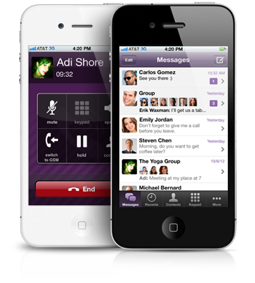 Viber Free calls, Free text messages, photo and location