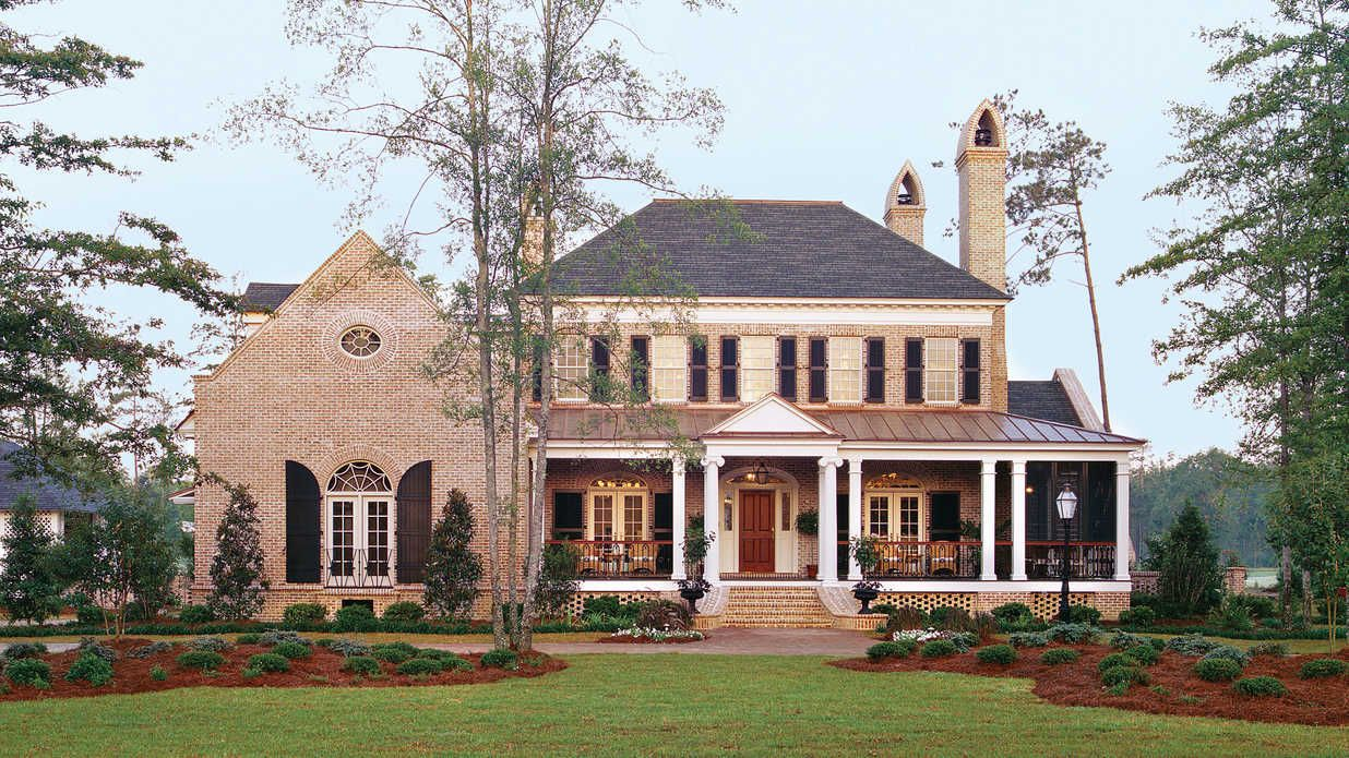 Top 12 Best Selling House Plans Colonial House Plans Porch House Plans Ranch House Designs