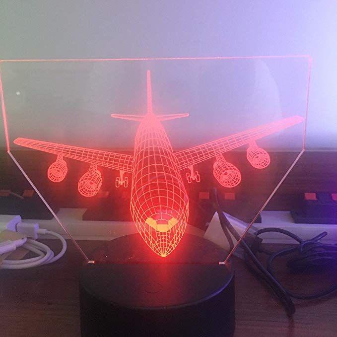 Maison 3d Led Lampe Art Déco Lumières Moto Décoration b6y7gYfv