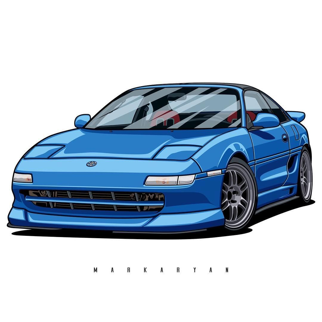 "Oleg Markaryan En Instagram: ""Toyota MR2. Especially For"