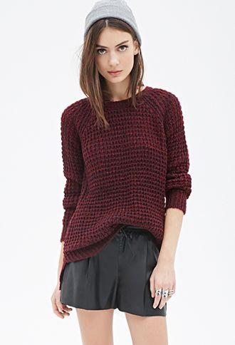 13a2b00ba4afae Marled Knit Sweater