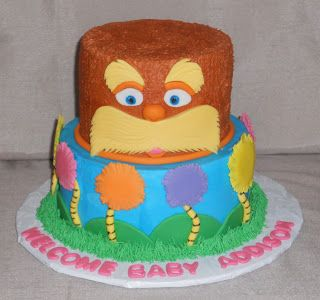 The Lorax Baby Shower