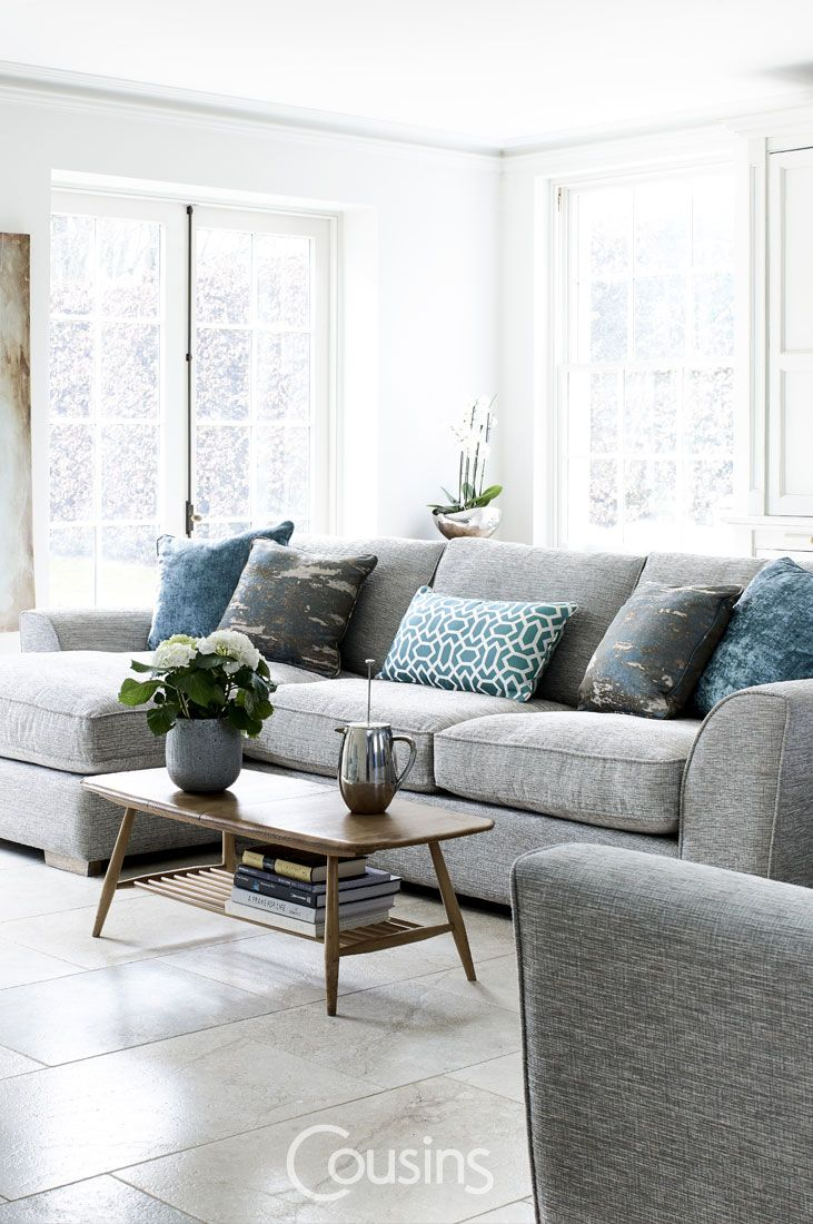 In november we added plantation shutters and i furnished with a sofa - Bluebell Loveseat In Gull Coloured Herringbone 795 Http Www Sofa Com Shop Sofas Bluebell 115 Hergul 0 0 Pinteres