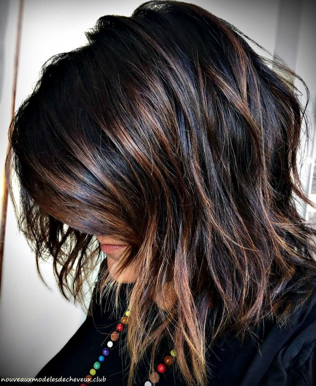 60 idées de couleur de cheveux brun chocolat pour les