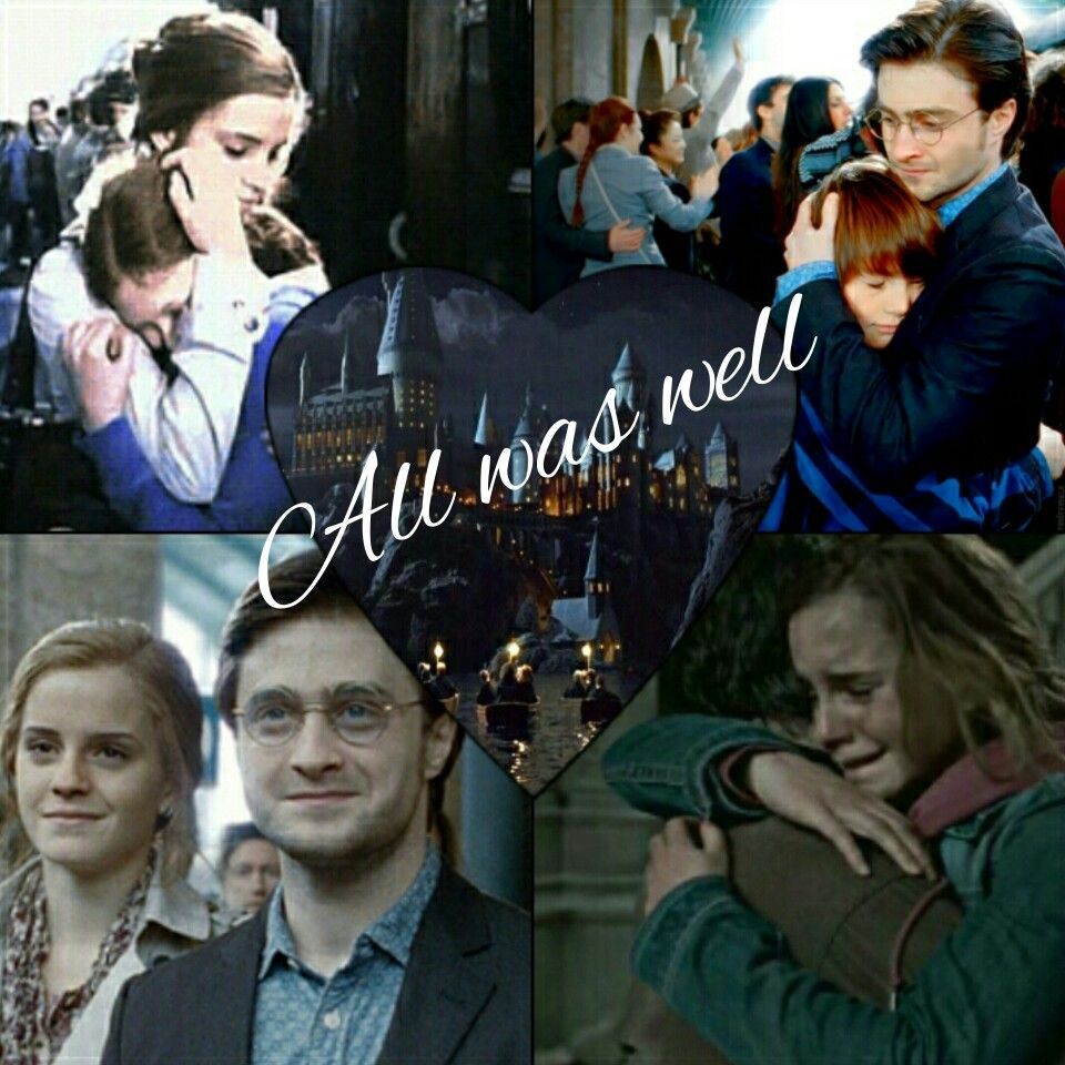 How It Should Have Been 19 Years Later I Love This Ship They Are So Cute Together And Work So Much Harmony Harry Potter Harry James Potter Harry And Hermione