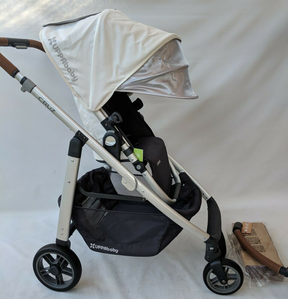 UPPAbaby CRUZ Stroller 2018/2019, LOIC WHITE UPPAbaby
