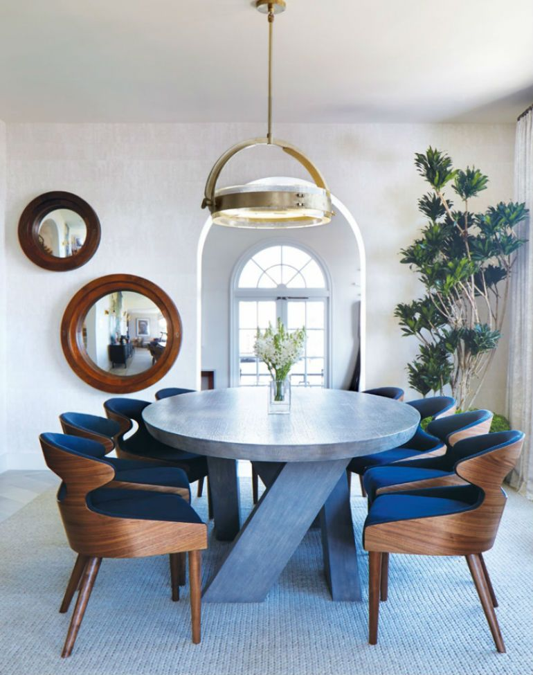 15 Stylish Dining Chairs From Luxury Brands Part I Dining Room Chairs Modern Modern Dining Room Modern Dining Rooms Contemporary