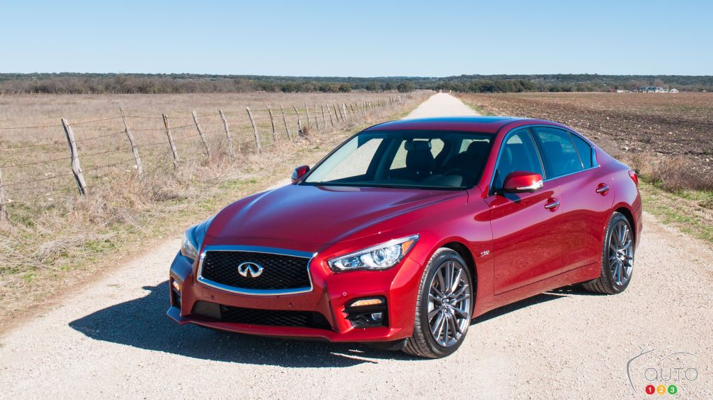2016 Infiniti Q50 Red Sport 400 Review Infiniti q50