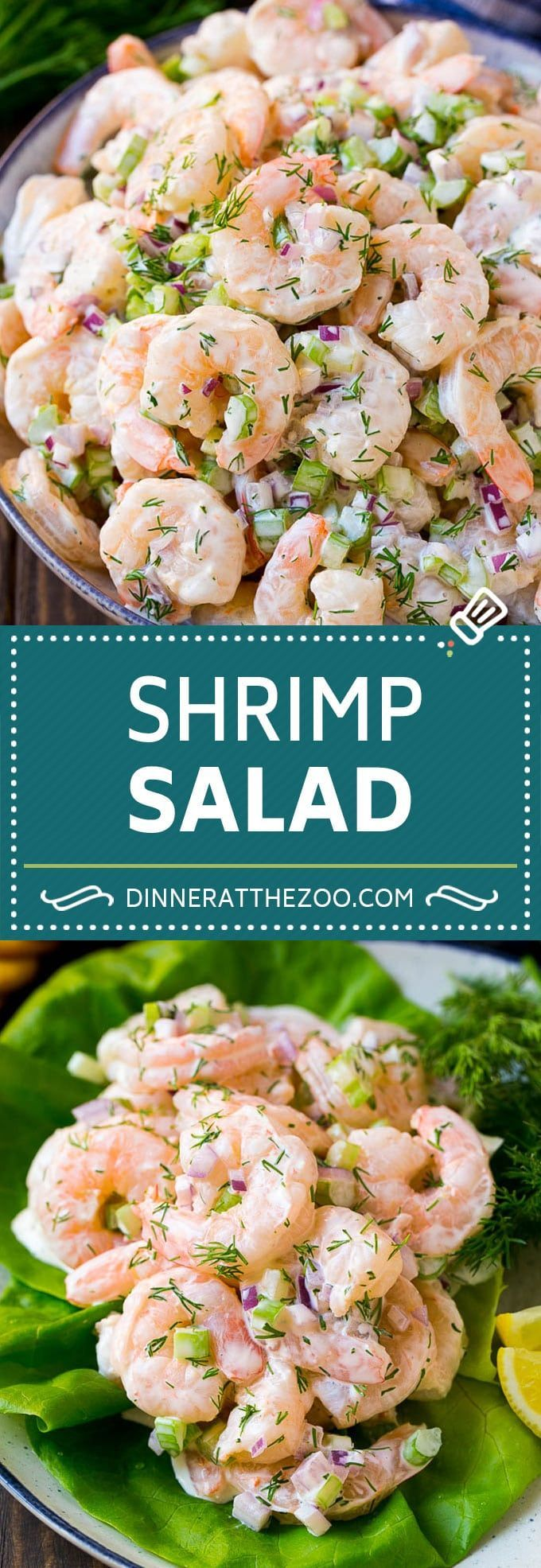 Shrimp Salad Recipe | Creamy Shrimp Salad