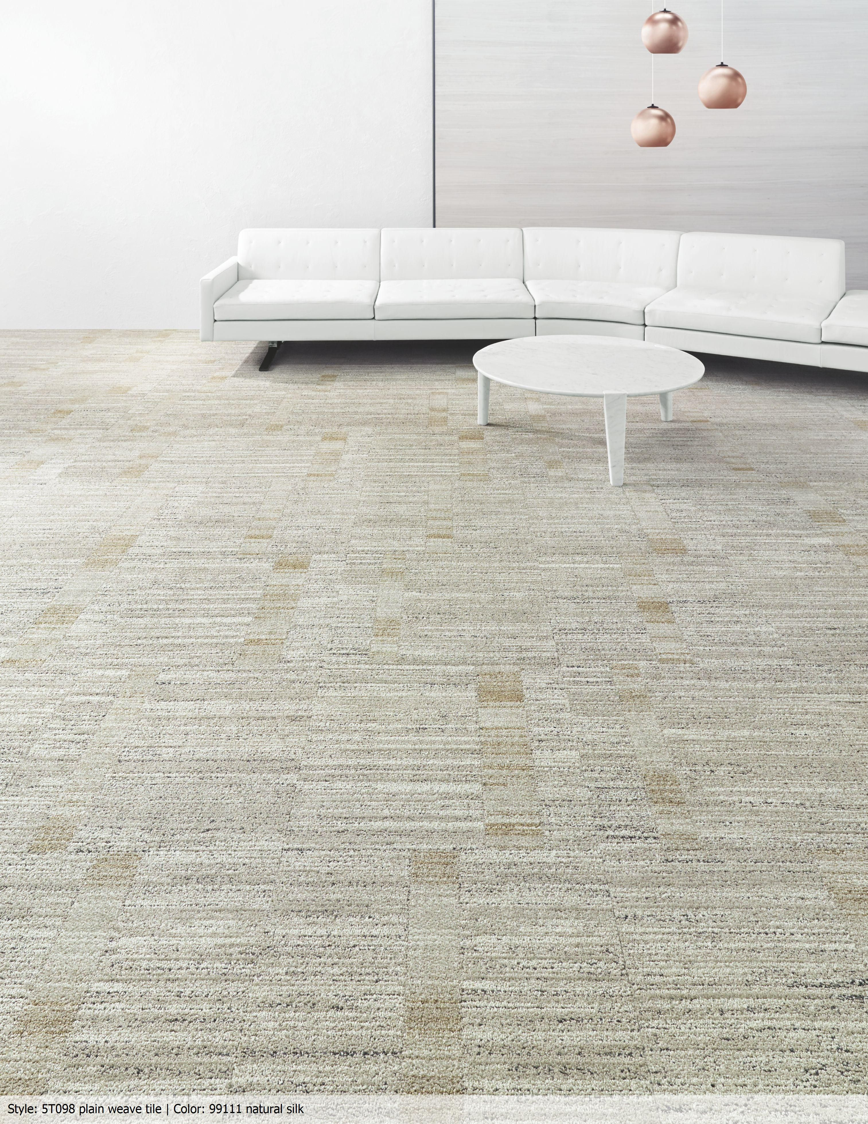 Plain Weave Tile Textured carpet, Carpet colors, White