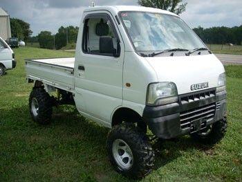 The Suzuki Mini Truck. Still looking at getting one!