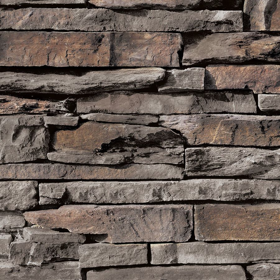 coronado stone products ledgestone 125sq ft palmetto blend faux stone veneer - Faux Stone Veneer