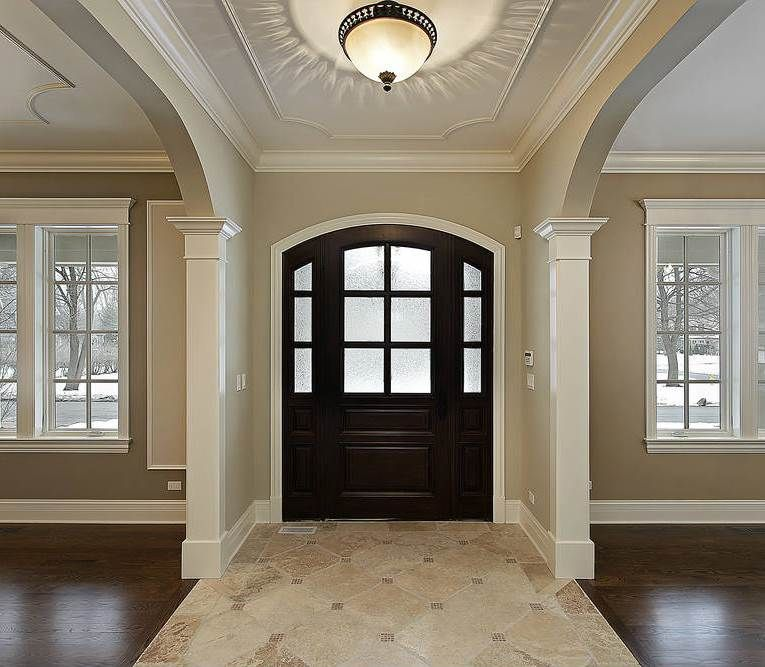 Warm and welcoming entryways for Foyer designs flats
