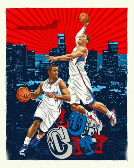 Lob City. Check out this NBA art piece along with several ...