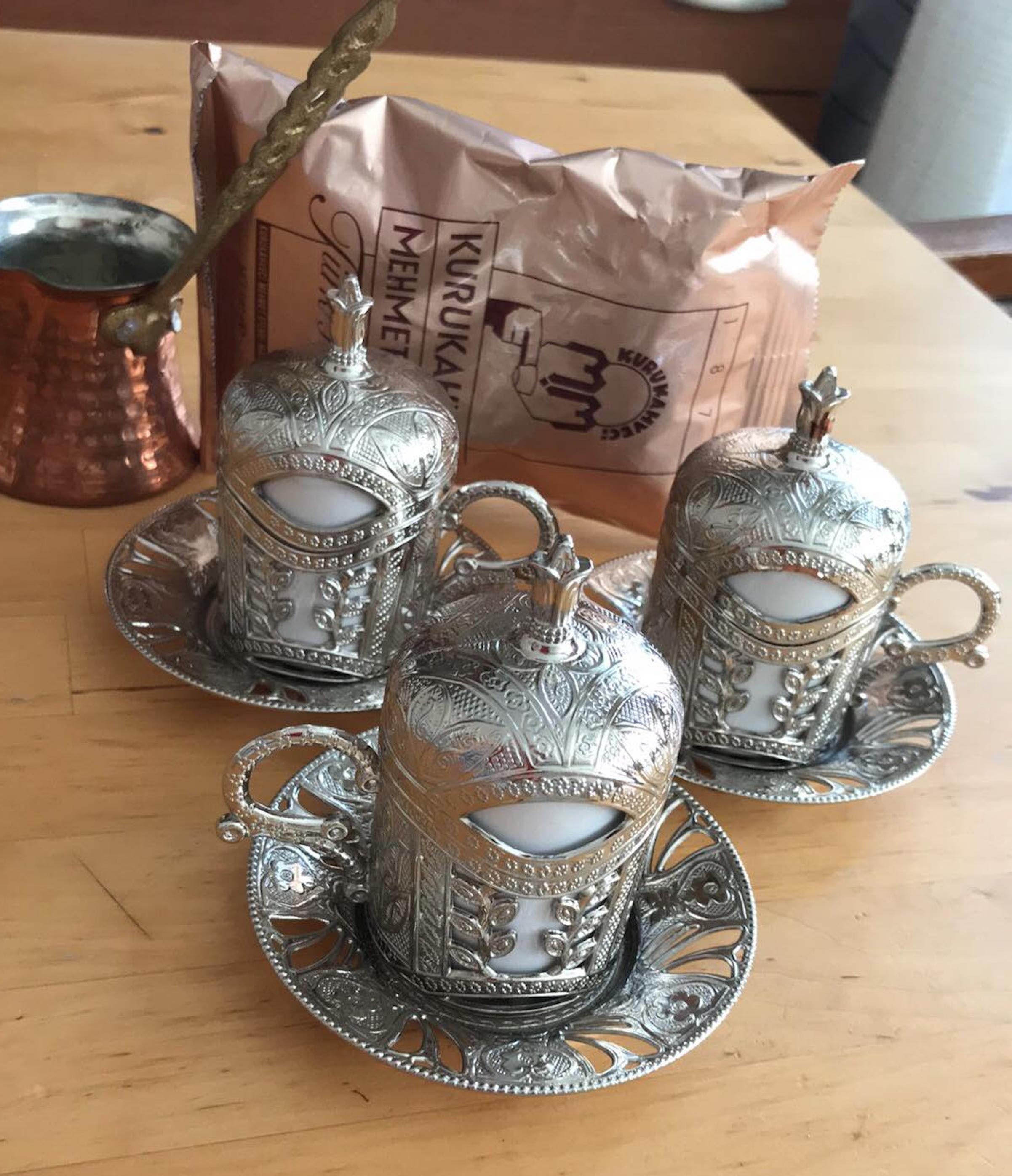 34+ Turkish coffee set copper trends