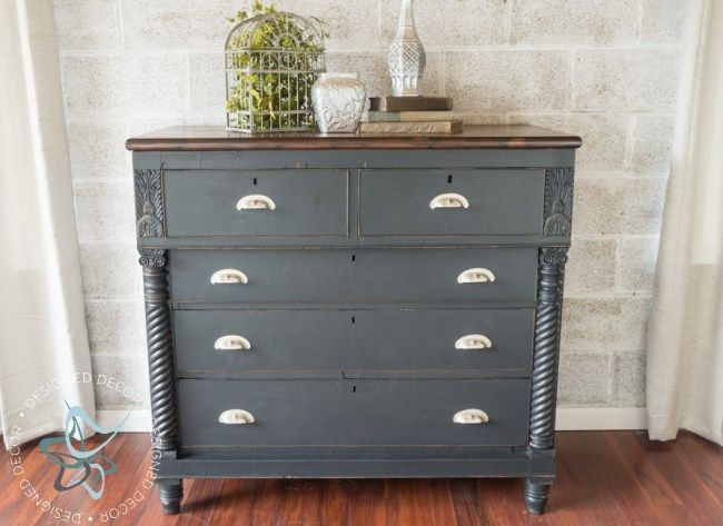 Rustic Glam Carved Empire Dresser, Empire Furniture For Less