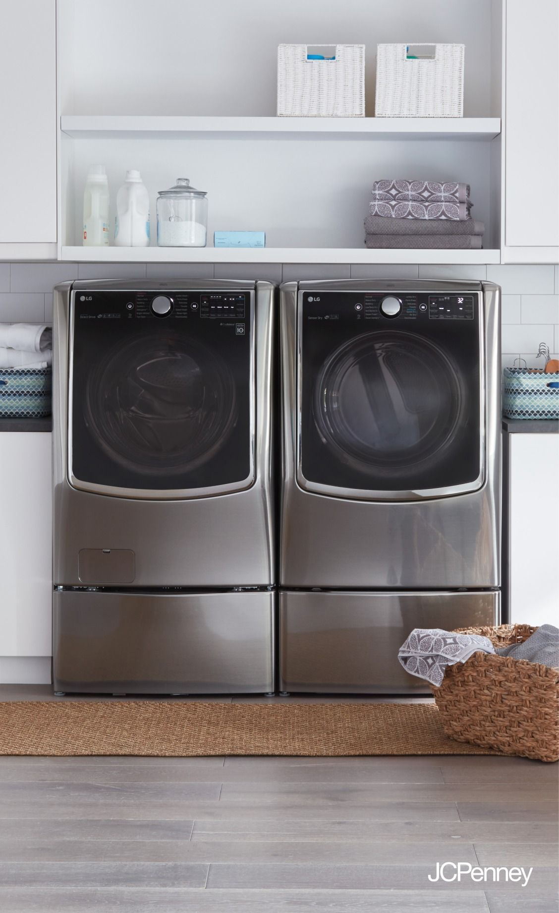 Lighten your laundry load by upgrading your