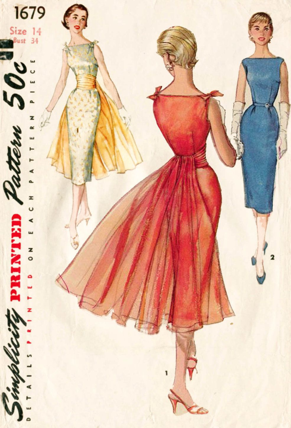 Simplicity 1679 | A Pattern To Live By (or: Sew Fabulous ...