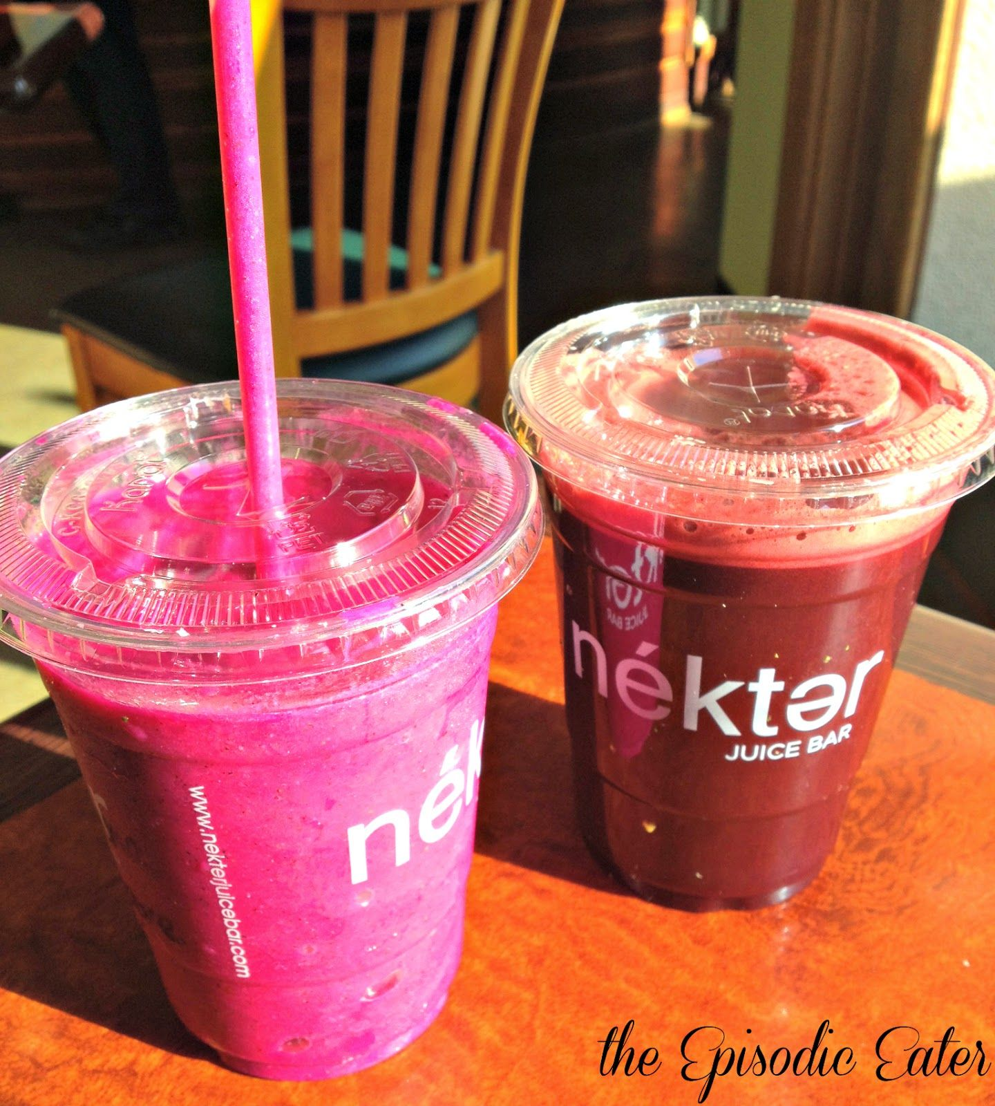 Nékter Juice Bar (Southern California) on The Episodic Eater