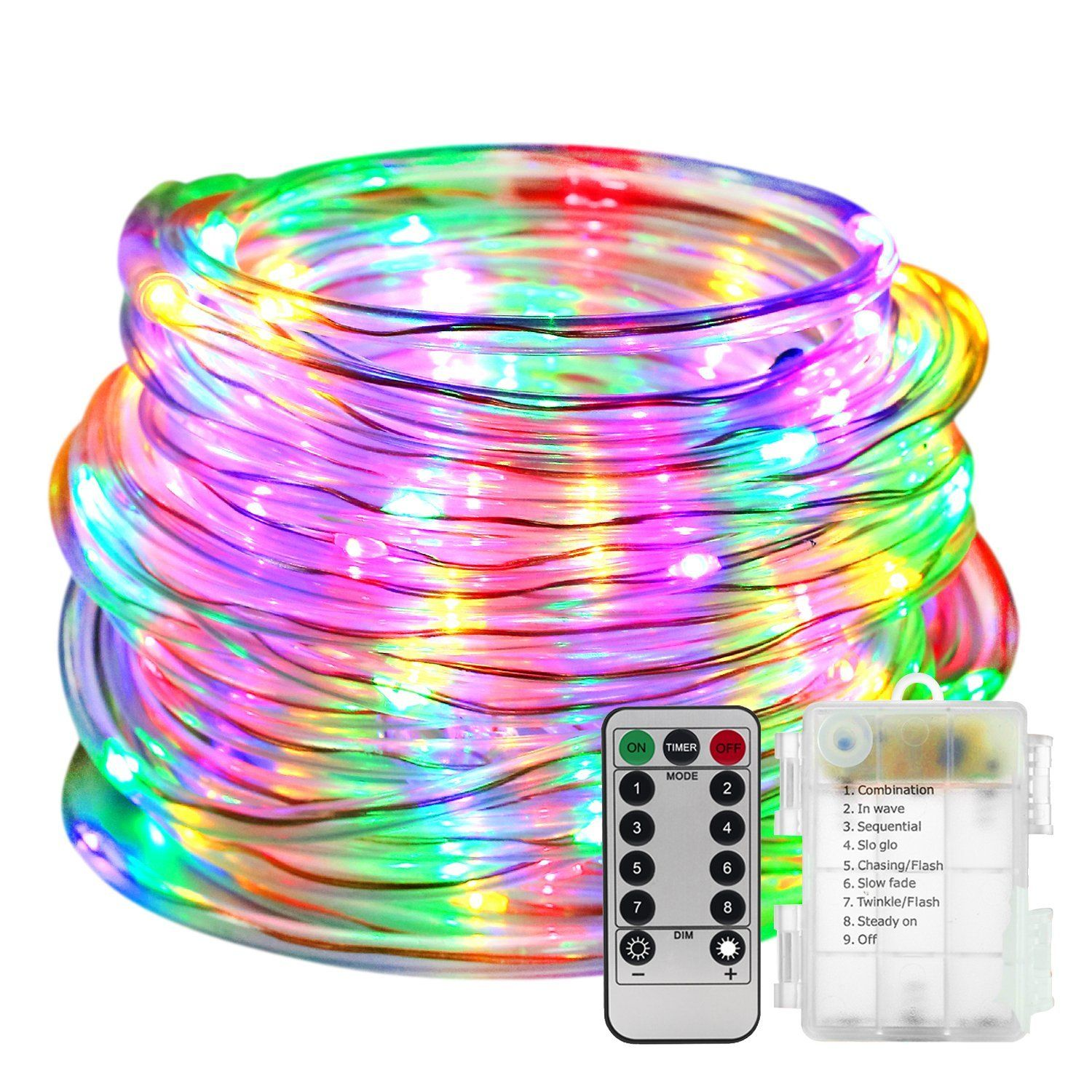 Led Rope Lights Battery Operated