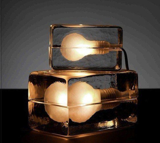 La Block Lamp Une Autre Idee De La Lumiere Aventure Deco Lamp Design Lamp Table Lamp Lighting