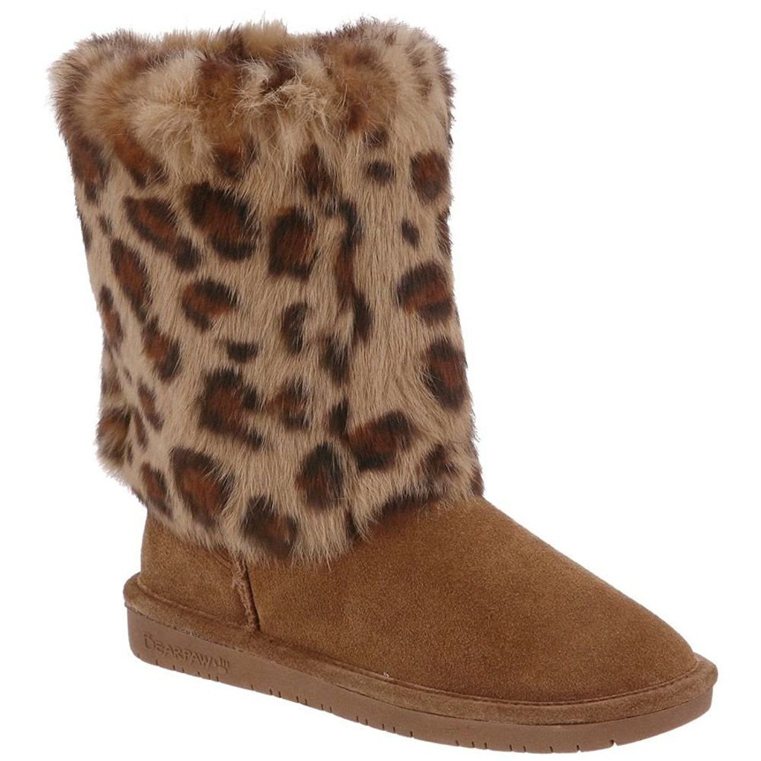 fc2c4b756a19 Bearpaw Womens Leopard Print Boots ** You can find more details by visiting  the image link.