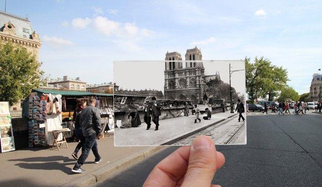 Paris, Quai Saint Michel - 1914