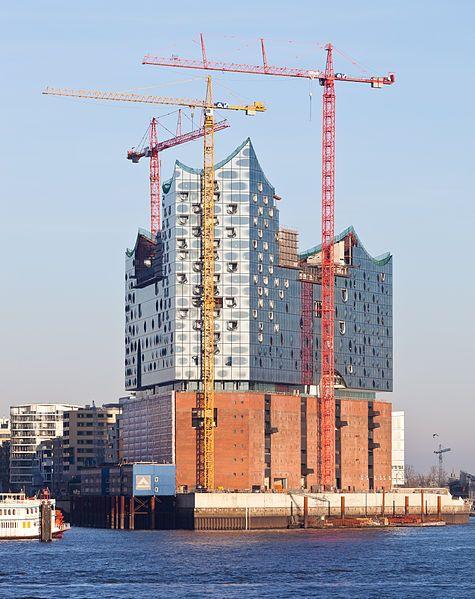 Elbphilharmonie Hamburg Still Under Construction Espected To Open Now In 2017 Architecture Details Elbphilharmonie Hamburg Architecture