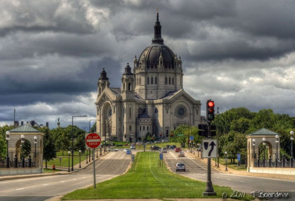 Cathedral Of St Paul Minnesota Us Cities Nh 224 Thơ