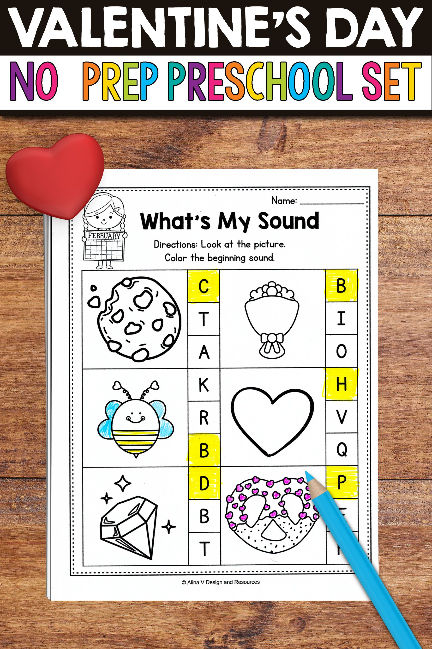 Are You Looking For Some Fun No Prep Valentine S Day Worksheets And Activities To Use In The