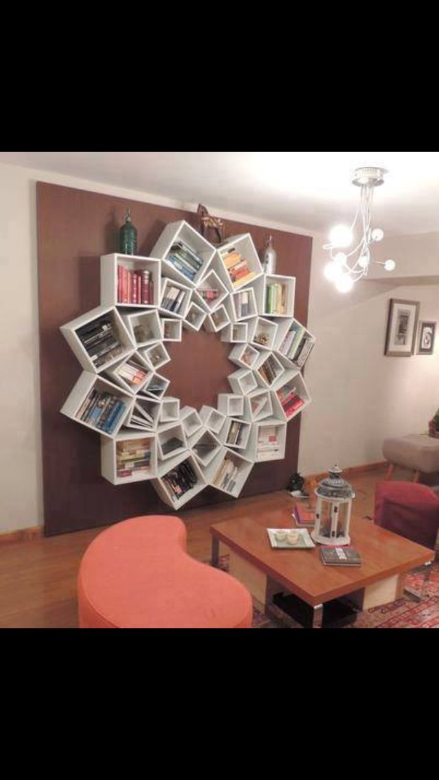 I Really Like This Unique Flower Bookshelf Wonder How Long Would Take To Assemble