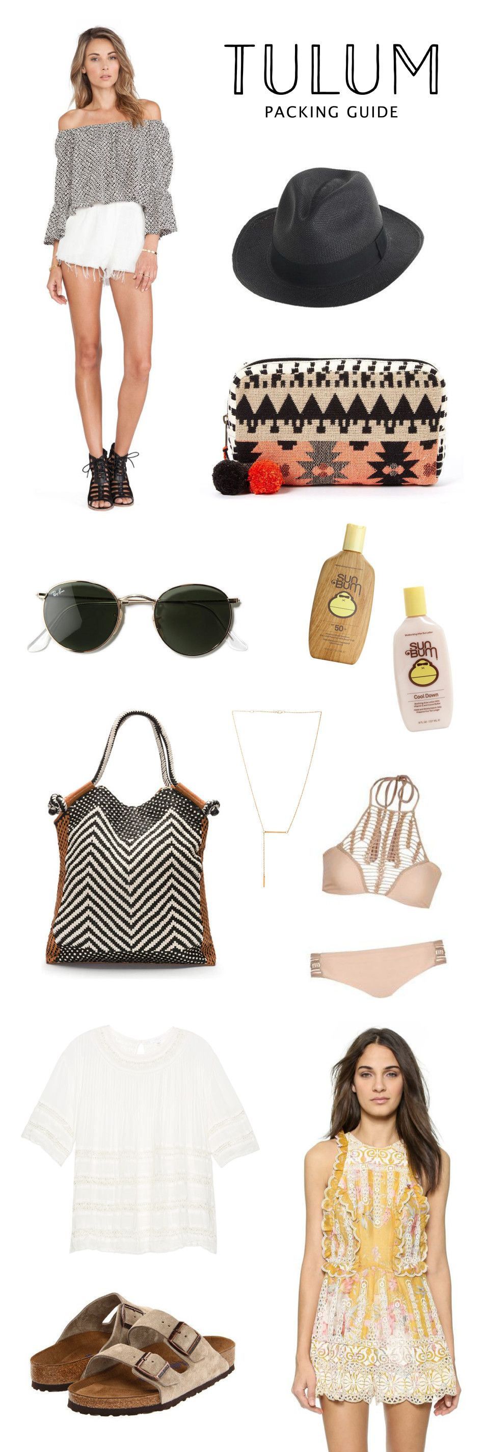 HANNAH SHELBY: Tulum Packing Guide