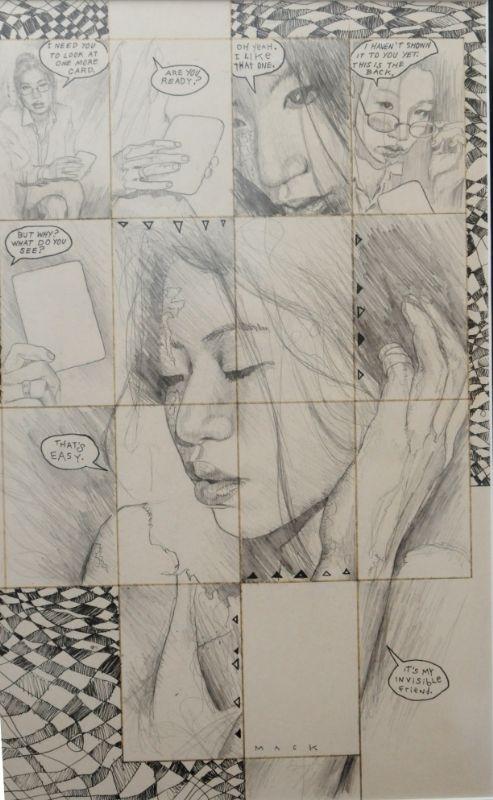 David Mack - Kabuki (Image) issue #7 page 17 -  Invisible Friend  Comic Art