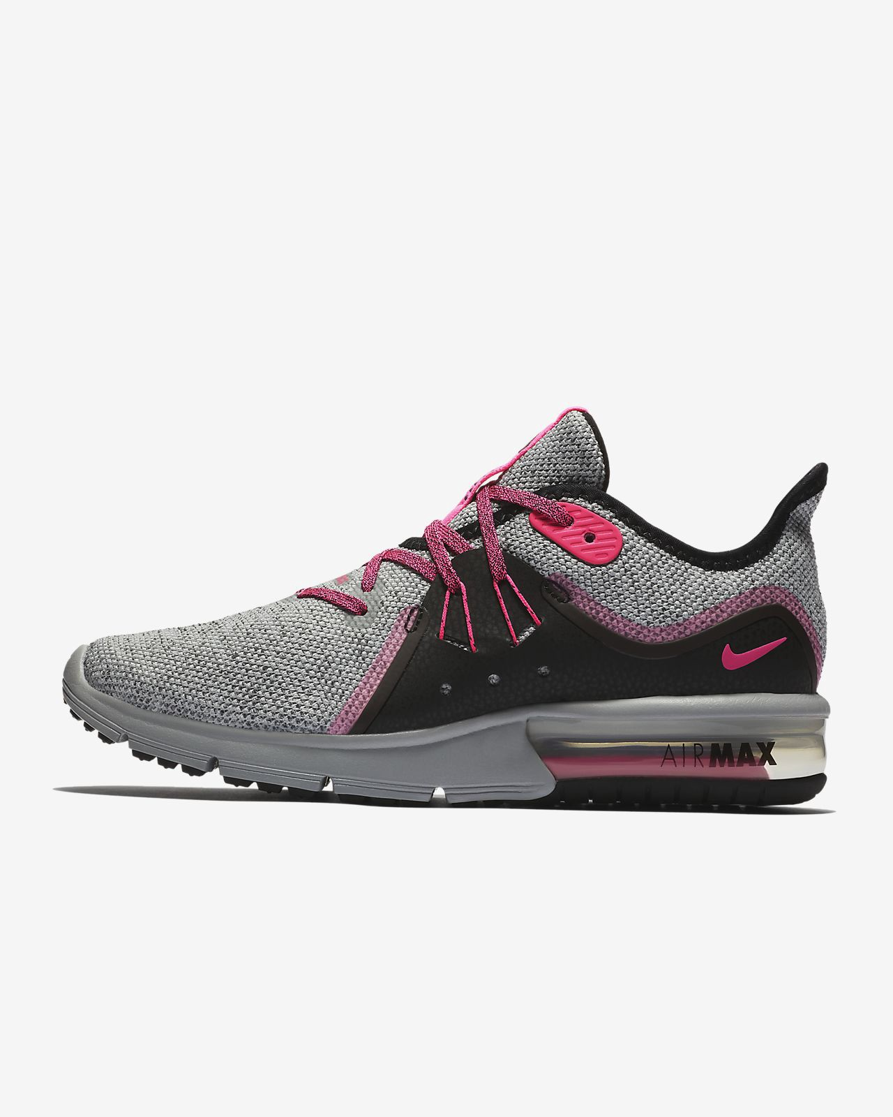 hot sale online ce52f f6769 Nike Air Max Sequent 3 Women s Running Shoe - 6.5
