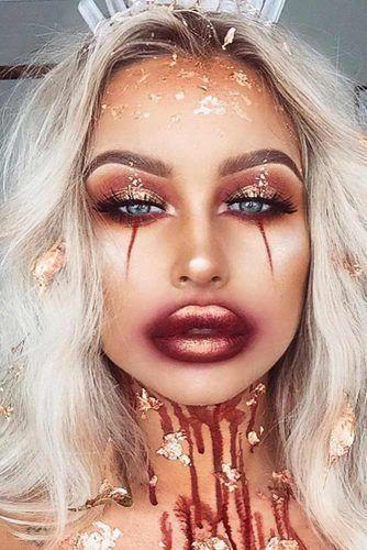 Photo of 39 Sexy Halloween-Make-up-Looks, die gruselig und doch niedlich sind #Accessoires  makeup products #makeup – makeup