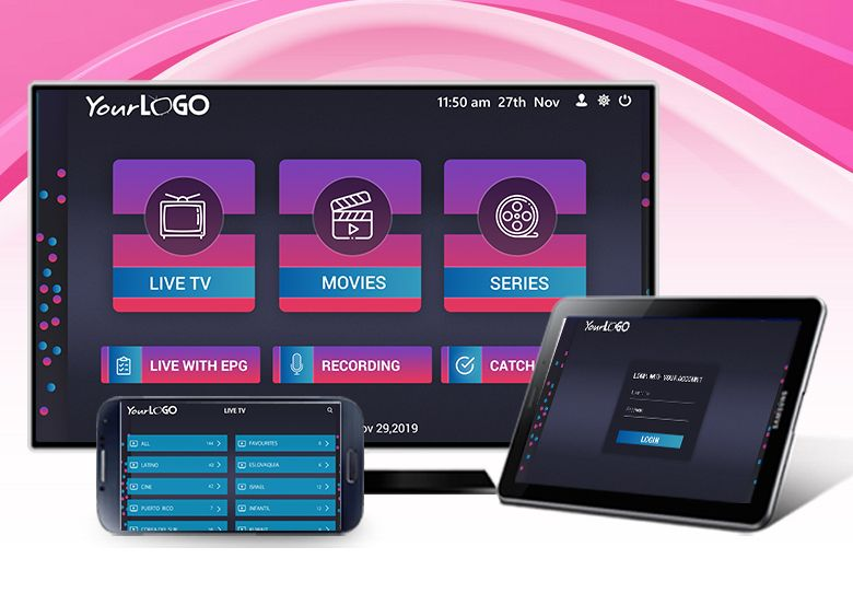 Get Your Custom IPTV App for Android | IPTV Smarters's