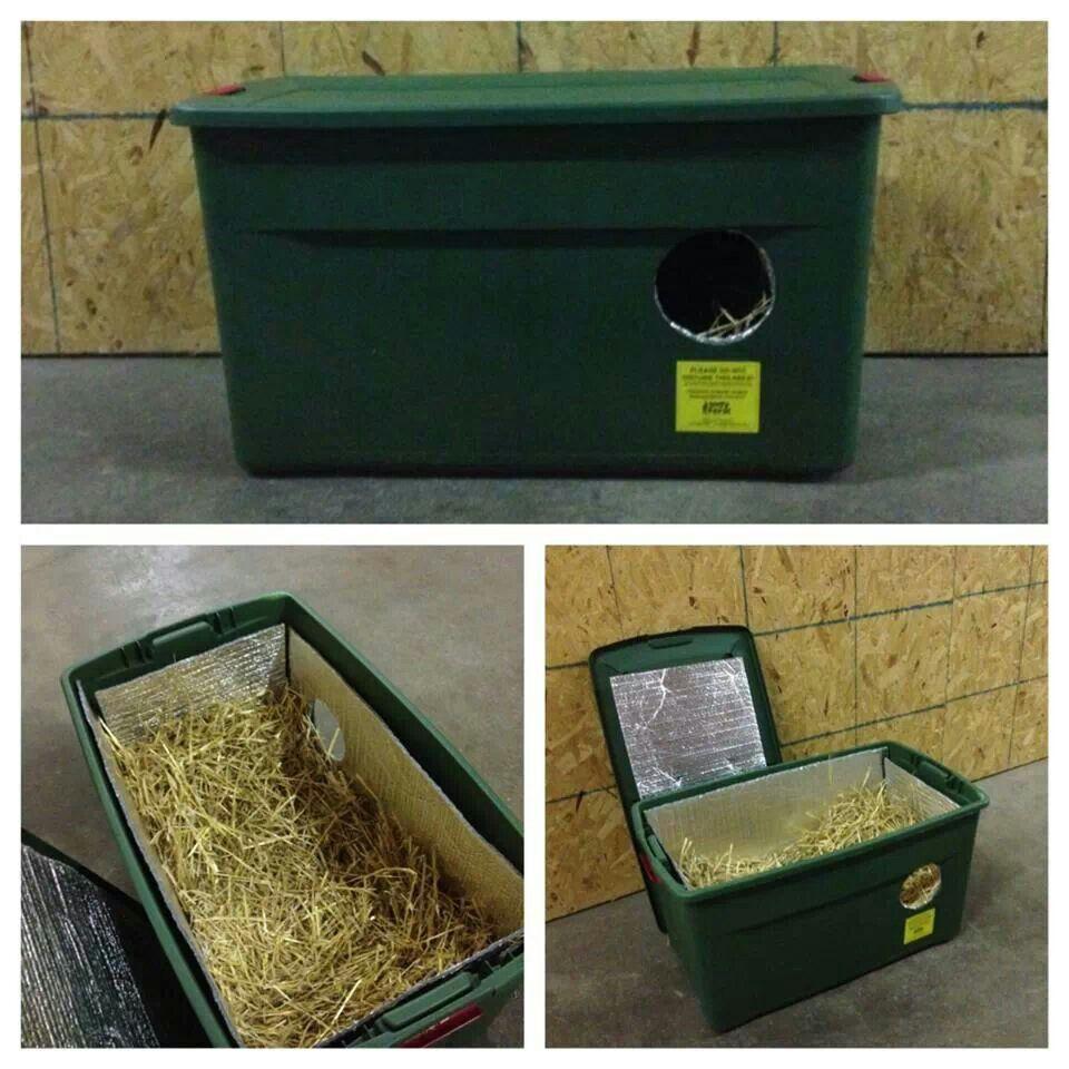Easy DIY Cat Shelter Outdoor cat shelter, Feral cat