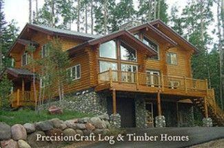 Landscaping for log homes log home landscaping cabin for Log home landscape design