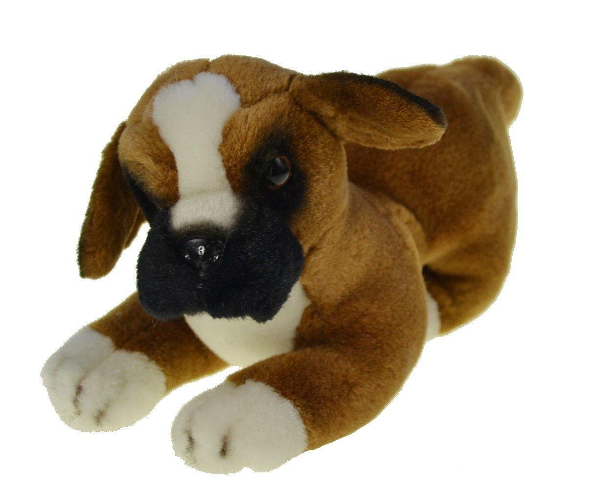 Plush Boxer Dog Puppy Animal