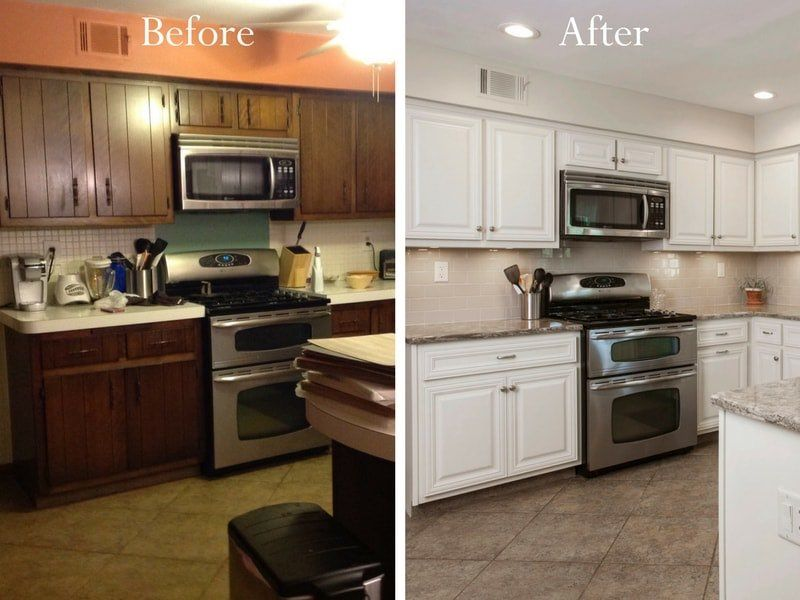 Reface Kitchen Cabinets In 2020 Refurbished Kitchen Cabinets