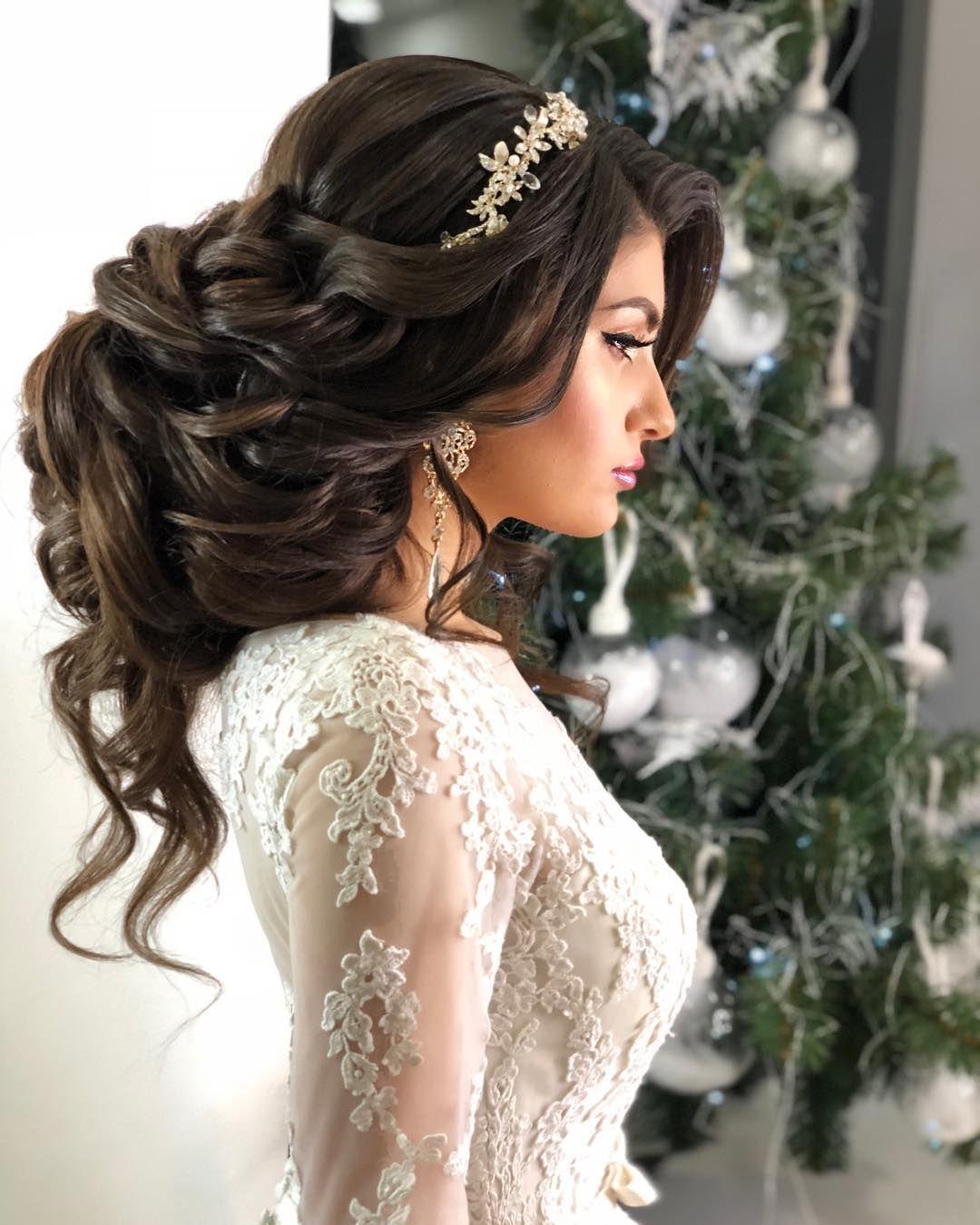 The Most Popular Bridal Hair Models Are Saulash Models Page 2