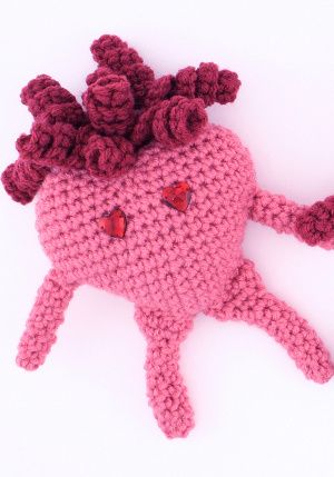 Valentine Amigurumi Heart