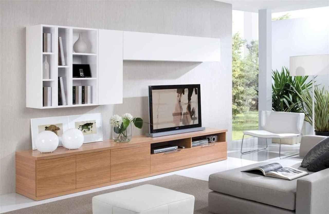 unique tv wall living room ideas 40