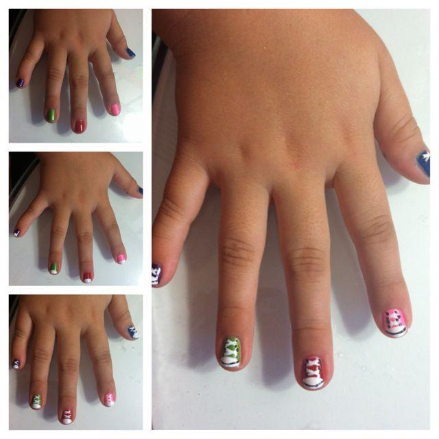 Nail Art Couture Converse Nail Art: Converse Nails, Nail Art, Nails