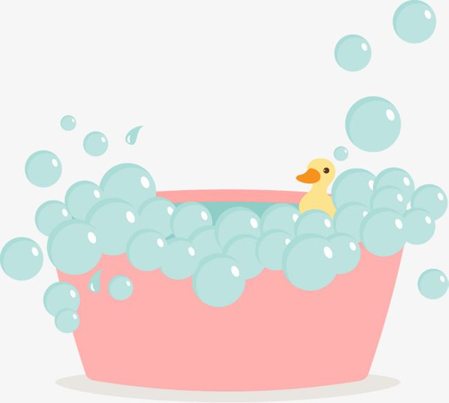 Pink Cute Bubble Bath Vector Pink Bath Bubble Baby Png And Vector Painting Crafts Bath Art Bath Pictures