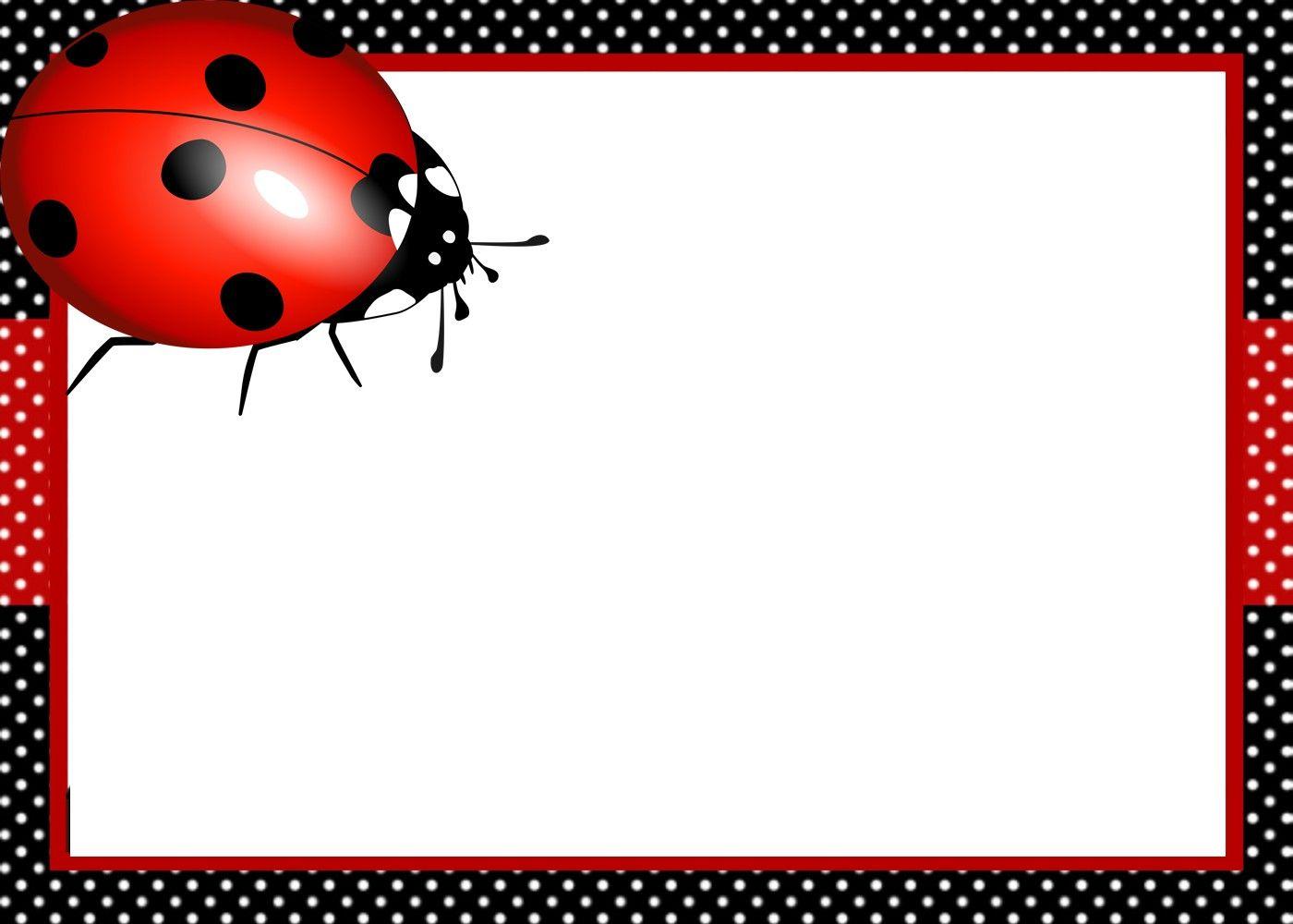 ladybug invitation template   ladybug invitations, ladybug birthday  invitations, ladybug birthday  pinterest