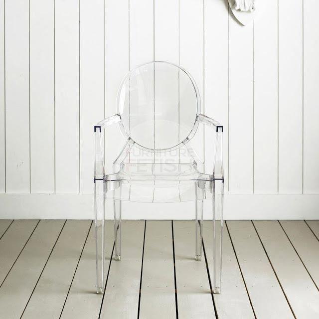 Louis Ghost Chair Replica Philippe Starck Transparent Armchair Louis Ghost Chair Ghost Chair Chair