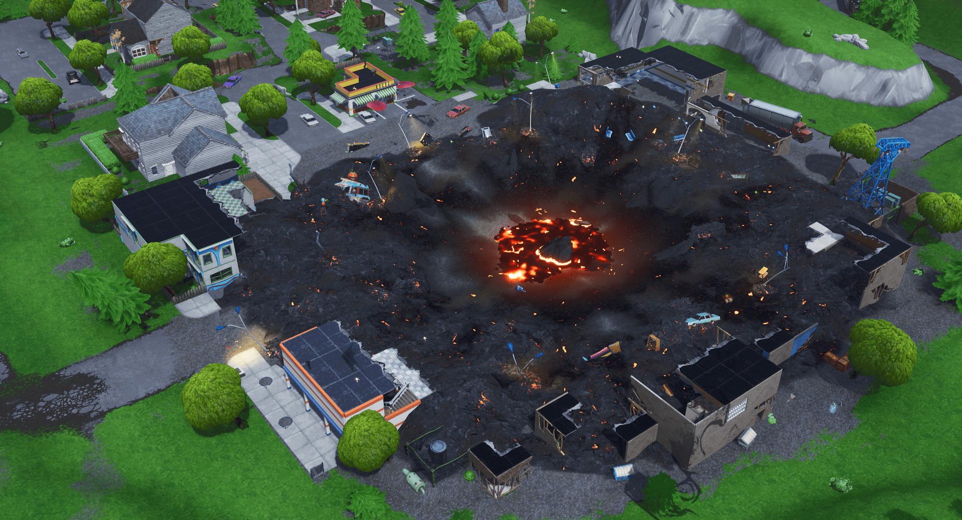 All Fortnite Battle Royale v9.10 Map Changes Fortnite