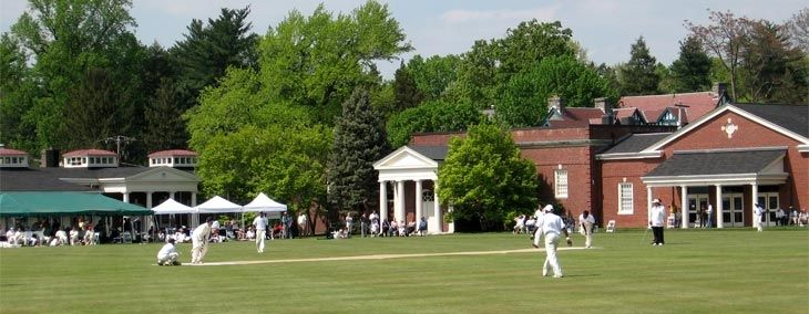 Cricket At Philadelphia Cricket Club An Array Of Amenities