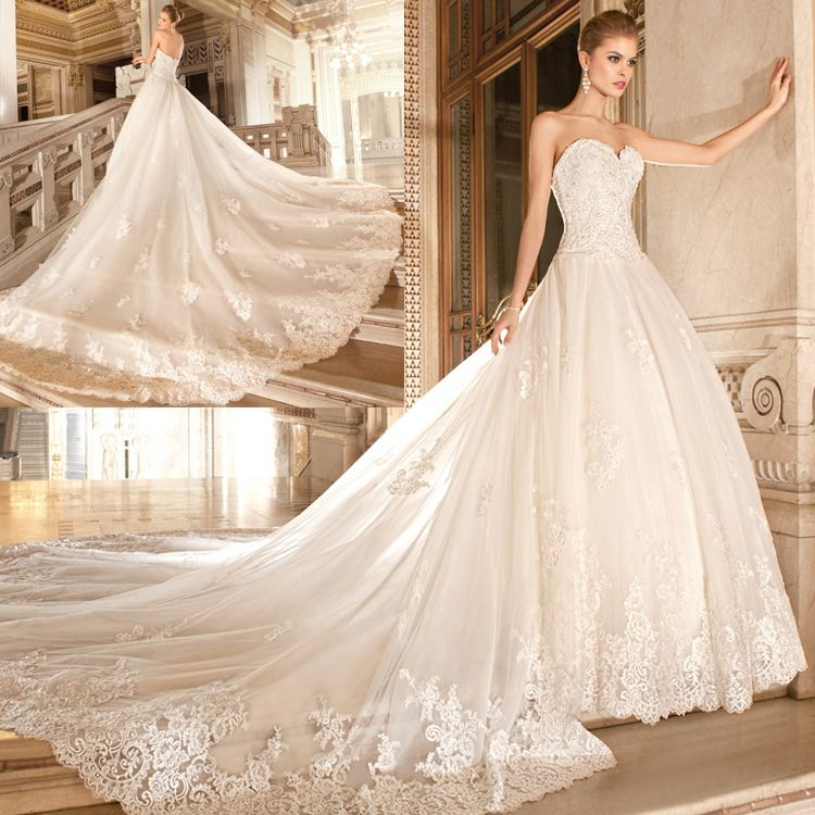 Compare Prices on Wedding Dress Long Train- Online Shopping/Buy ...